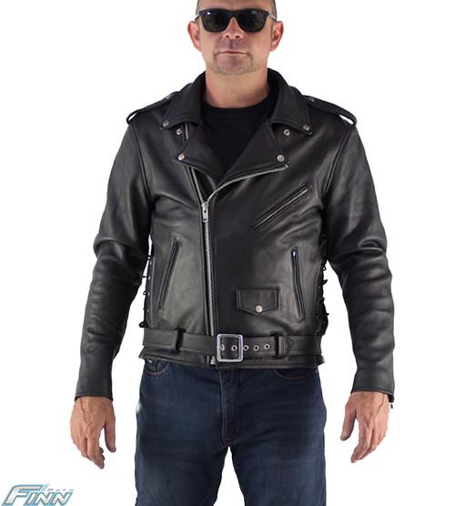 Mens Brando Leather Jacket