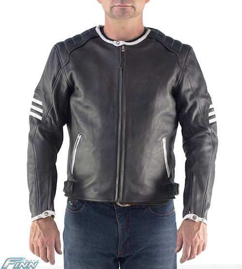 365 - Mens Motorcycle leather jacket