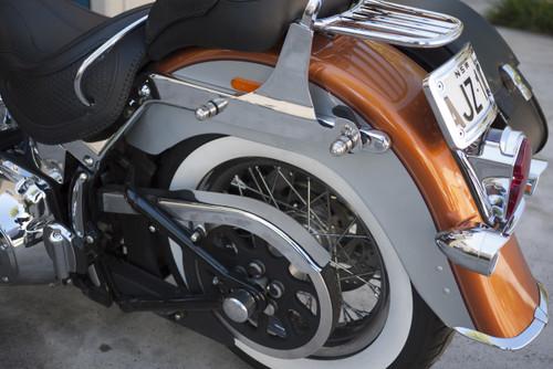 Harley Davidson - Easy Quick Saddlebag Brackets Set