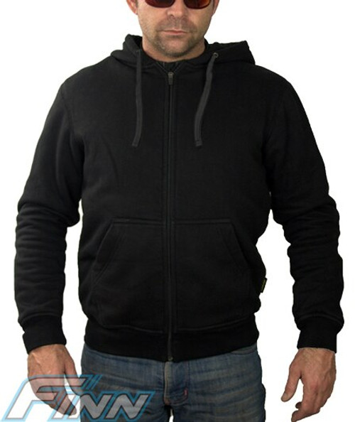 Mens Kevlar Hoodie perfect riding fit, includes CE armour