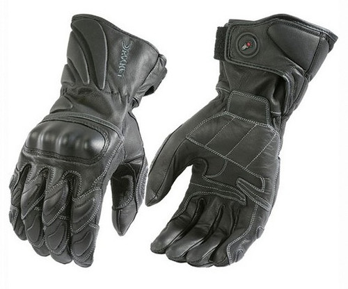 Mens Motorcycle Leather Gloves with armour