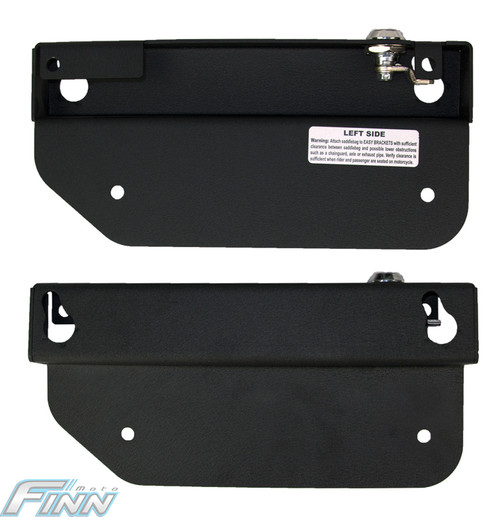 Easy Saddlebag Brackets Kawasaki