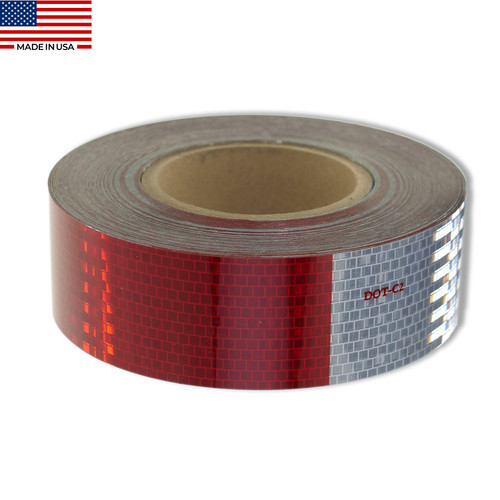 2 /× 20 DOT-C2 Reflective Tape Reflector Conspicuity Tape Stickers High Intensity Waterproof for Trailers,Trucks,Cars. 2 /× 20