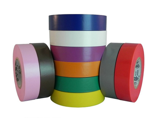 Colored Electrical Tape 3/4 inch - Wholesale Prices at TapeJungle.com.
