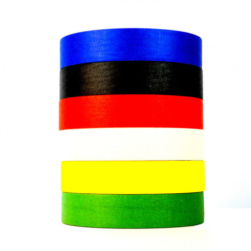 Color Masking Tape - Wholesale Prices at TapeJungle.com - The Discount Tape Superstore - Call us at 877-284-4781.