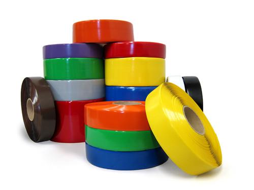 SafetyTac Industrial Floor Marking Tape - 100' Per Roll | Heavy Duty Vinyl Floor Tape | Tape Jungle