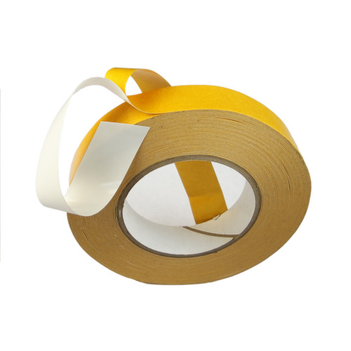 Double Coated Polyester 5.5 Mil - White PVC | Double Stick Tape | Tape Jungle