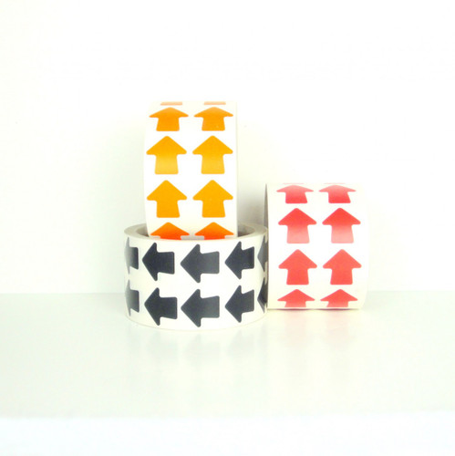 SPVC Vinyl Die Cuts Arrows on a Roll - Wholesale Prices from TapeJungle.com