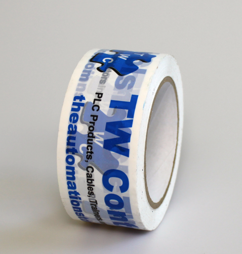 76bd66d7164 Example Tape Roll for Custom Printed Tape. ‹ ›