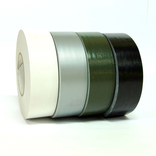 TapeJungle.com Contractor Duct Tape - Wholesale Prices - White Duct Tape, Silver Duct Tape, Gray Duct Tape, Olive Duct Tape, Black Duct Tape - Call us at 877-284-4781 for discount prices.