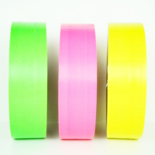 Fluorescent Duct Tape - Wholesale Prices from TapeJungle.com - Fluorescent Green Duct Tape, Fluorescent Pink Duct Tape, Fluorescent Yellow Duct Tape, Fluorescent Orange Duct Tape - Call TapeJungle at 877-284-4781 for discounted prices on Fluorescent Duct Tape.
