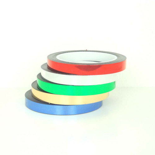 Metalized Tape, Metalized Polyester Tape, Colored Polyester Tape, Colored Metalized Tape - TapeJungle.com - Wholesale Prices.