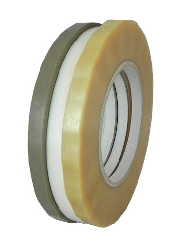 "Bag Sealing Tape (9532) Available in 3 Colors: Clear, Tan, White 3/8"" 24 or 96 Rolls Per Case, 180 Yards - TapeJungle.com"