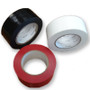White, Black And Red Rolls Of Tape