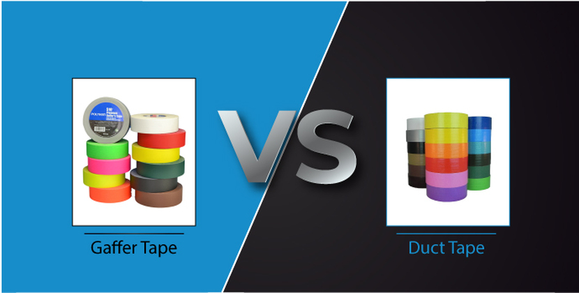 Gaffer Tape vs. Duct Tape: What's the Difference?