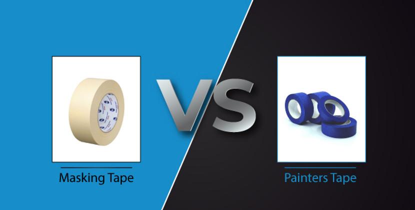 Masking Tape vs Painters Tape