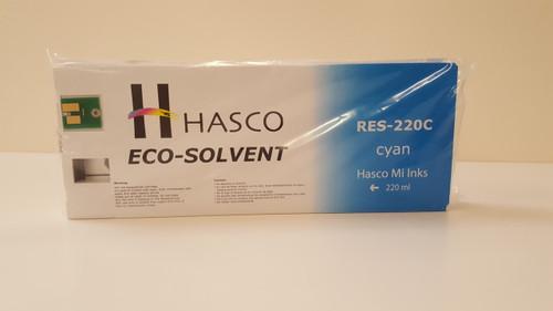 Hasco Mi Ink Eco-Sol Ink 220 - Cyan