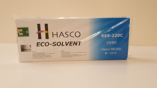Hasco Mi Ink Eco-Sol Ink 220 - Cyan