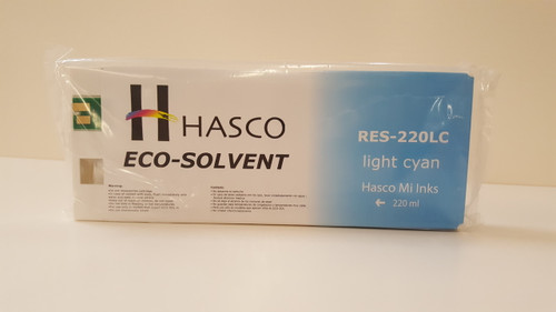 Hasco Mi Ink Eco-Sol Ink 220 - Light Cyan