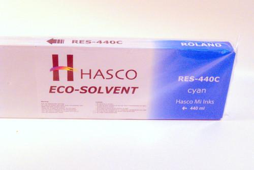 Hasco Mi Ink Eco-Sol Ink 440 ml - Cyan