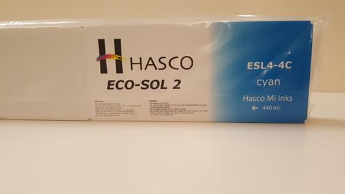 Hasco Mi Ink Eco-Sol 2 Ink 440 - Cyan