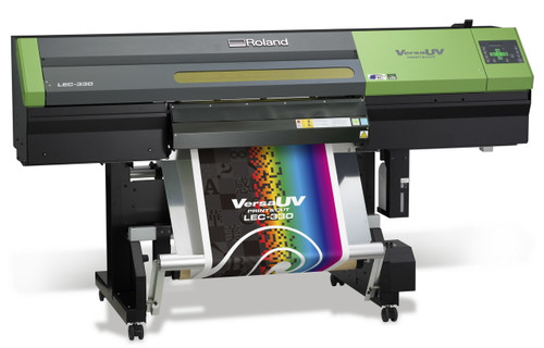 Roland VersaUV LEC 330 UV Printer/Cutter
