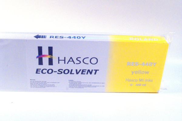 Hasco Mi Ink Eco-Sol Ink 440 ml - Yellow