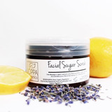 Lemon Lavender Facial Sugar Scrub (Cannot be shipped internationally)