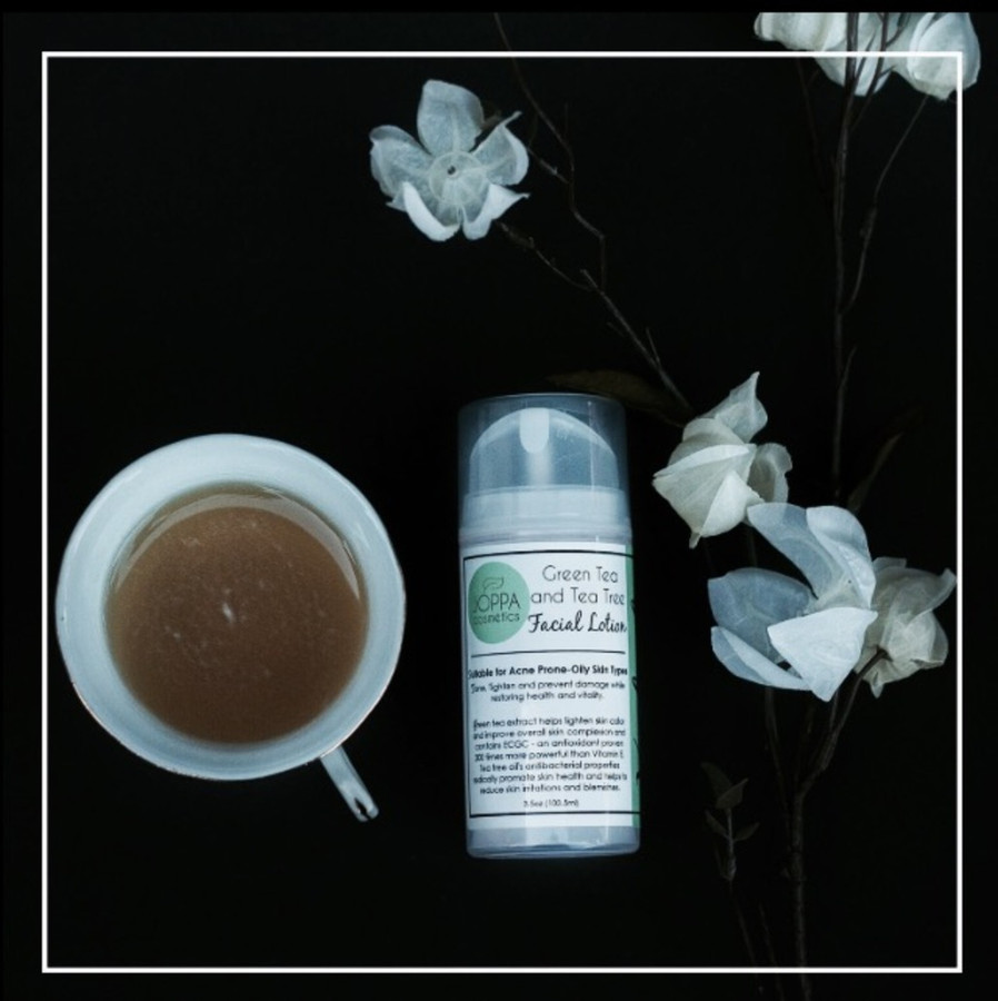 Green Tea and Tea Tree Lotion (Cannot be shipped internationally)