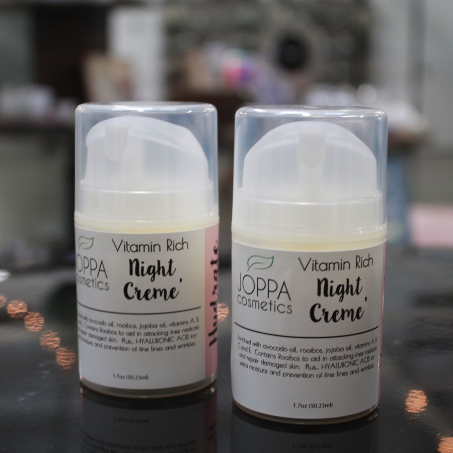 Vitamin Rich Night Creme with HYALURONIC ACID