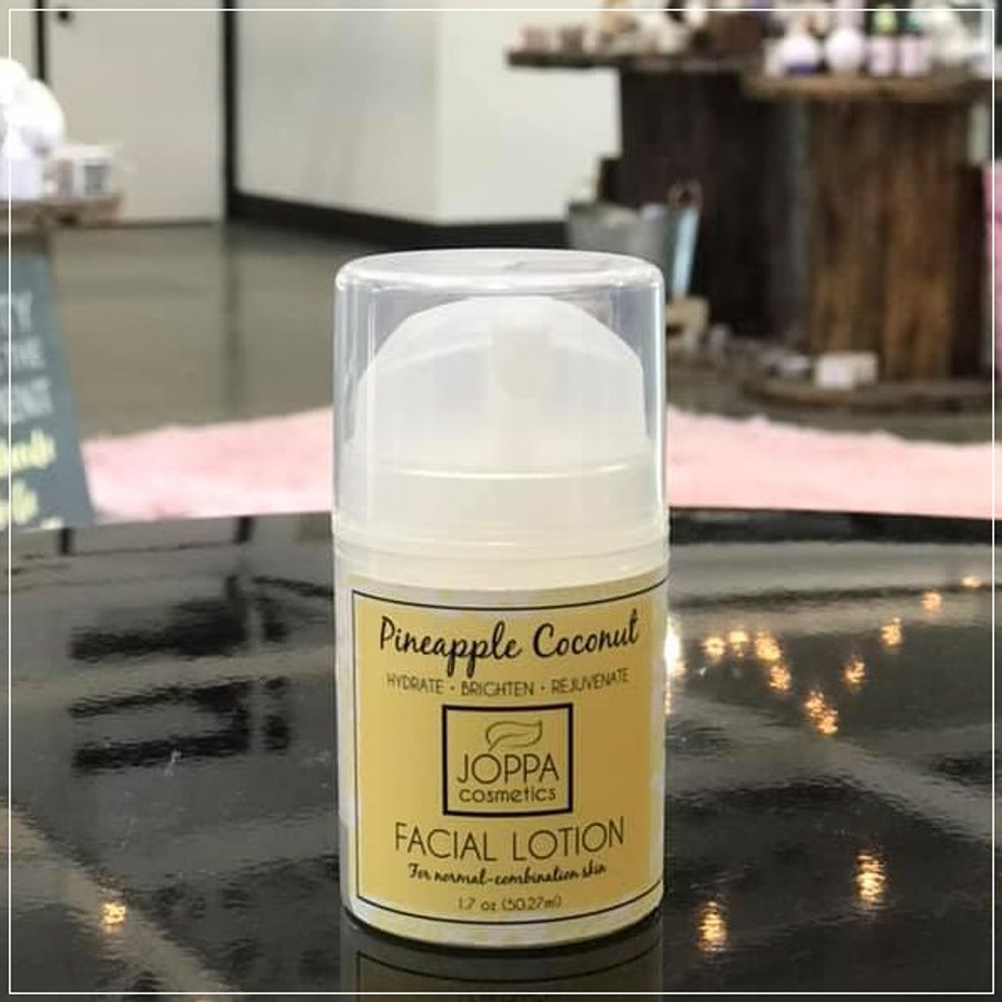 Pineapple and Coconut Facial Moisturizer