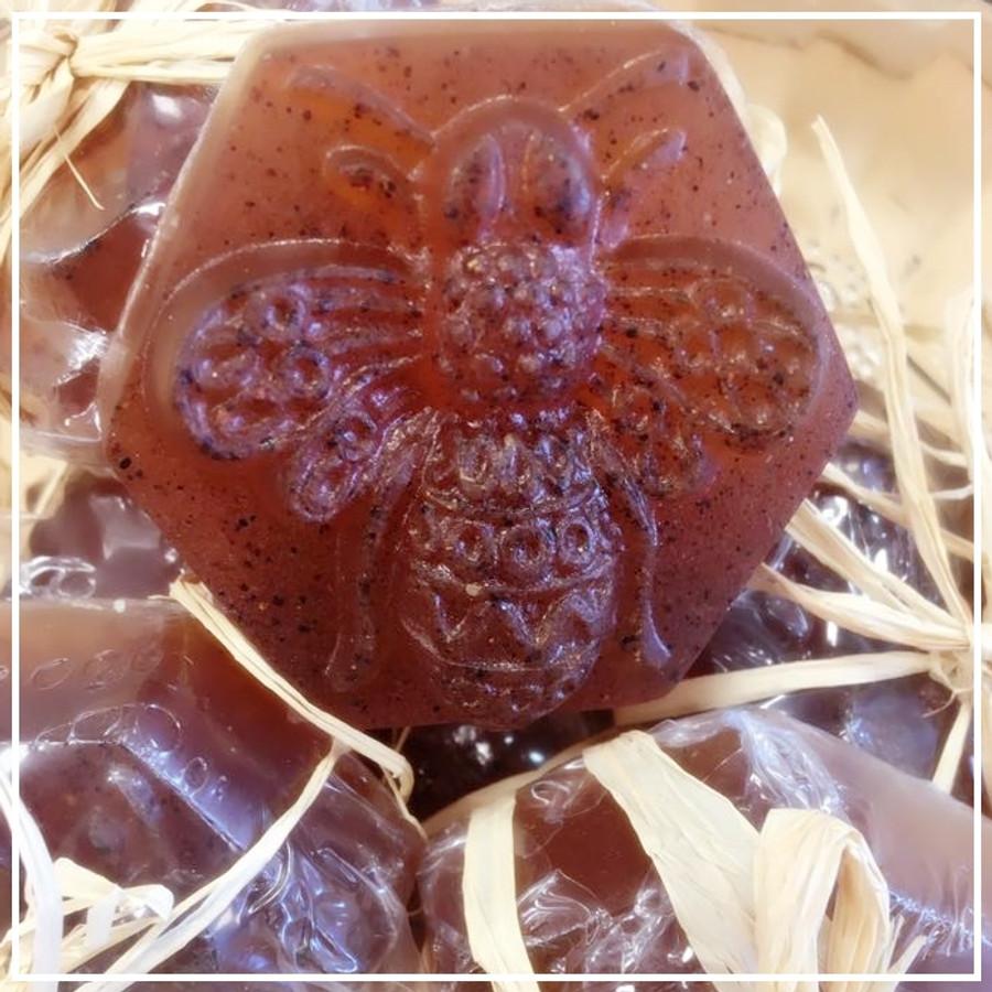 Raw Honey and Myrrh Facial Soap