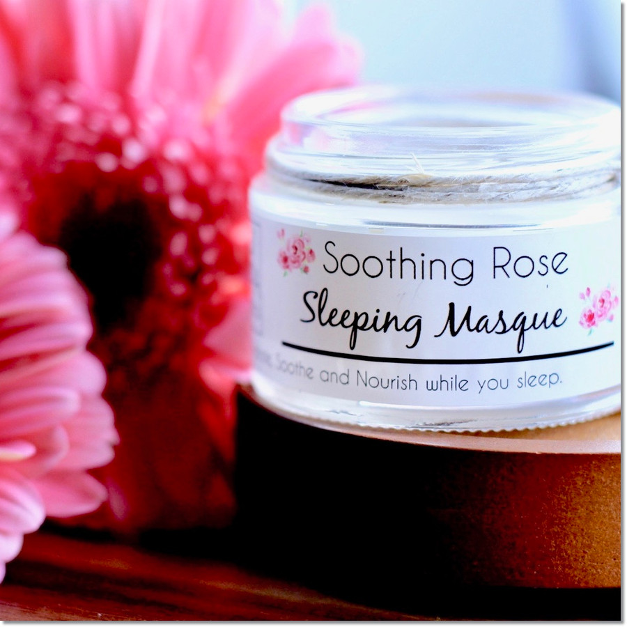 Soothing Rose Sleeping Masque (Cannot be shipped internationally)