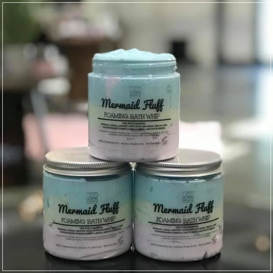 Mermaid Fluff Foaming Bath Whip (Cannot be shipped internationally)