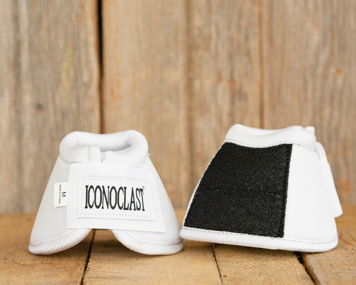 Iconoclast Bell Boots - White