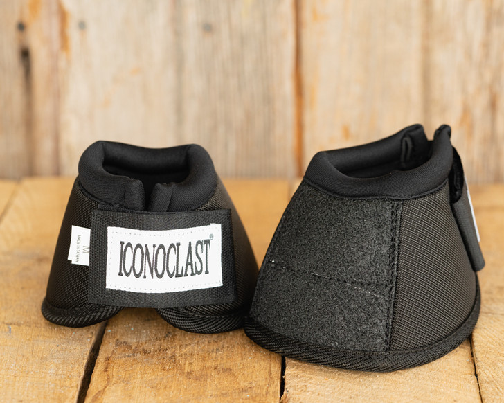 Iconoclast Bell Boots - Black