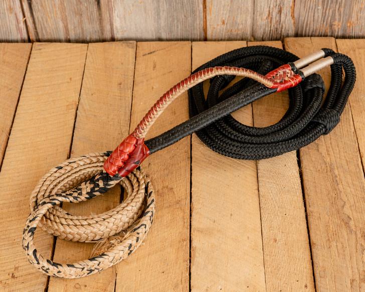 "True Brazilian Bull Rope - 3/4"" Handle 1"" Soft Tail"