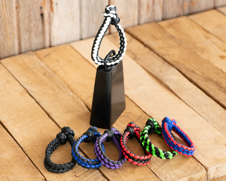 Nylon Braided Bull Bell Strap