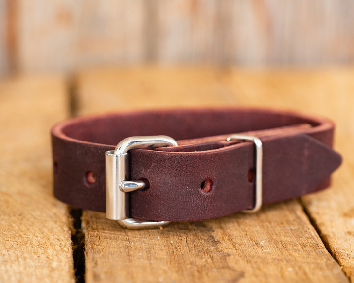 Leather Bull Bell Strap