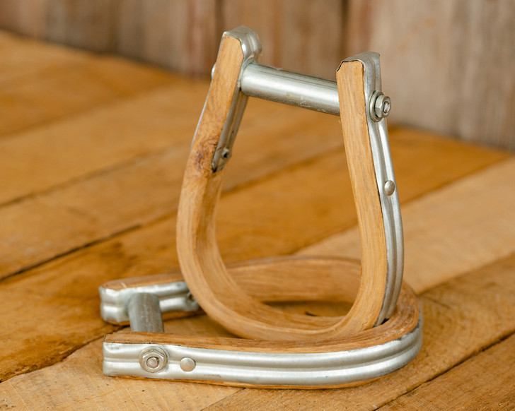 Wood Jr. Saddle Bronc Stirrups