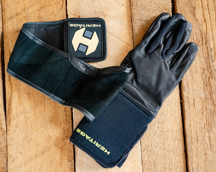 Heritage Wrist Wrap Youth Bull Riding Glove