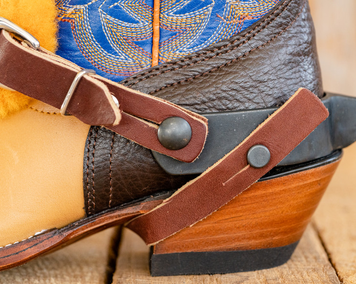 Jr. Leather Under the Heel Strap