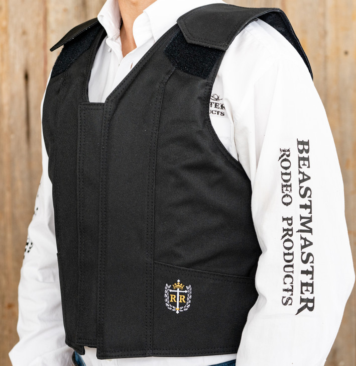 1200 Series Polyduck Bull Riding Vest