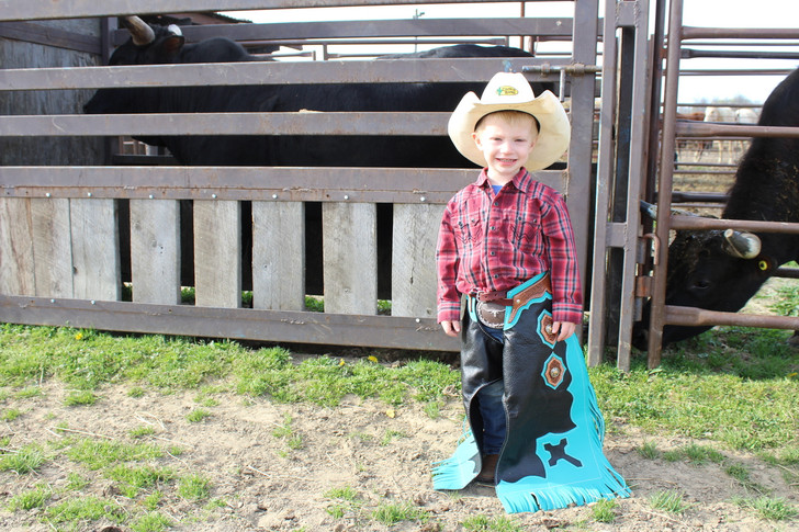 Custom Youth Rodeo Chaps