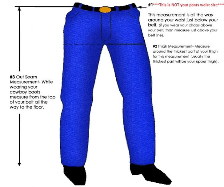 Custom Chap Builder - No Leg Design