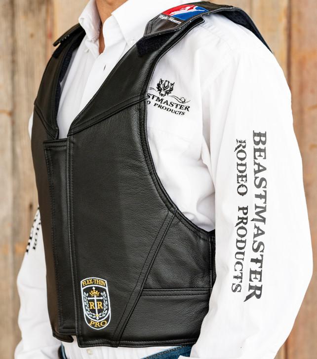Wright Western Leather Saddle Bronc Vest