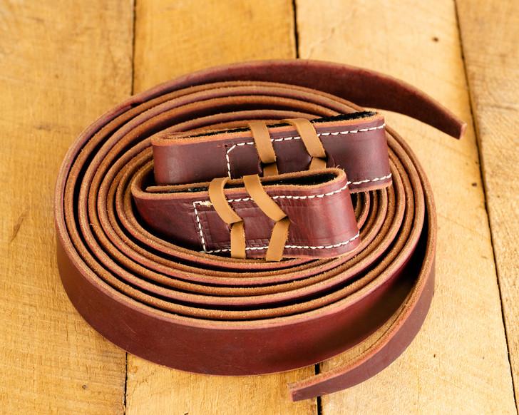 Elite Series Burgundy Leather Latigos