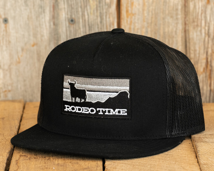 Rodeo Time Snap Back - Black