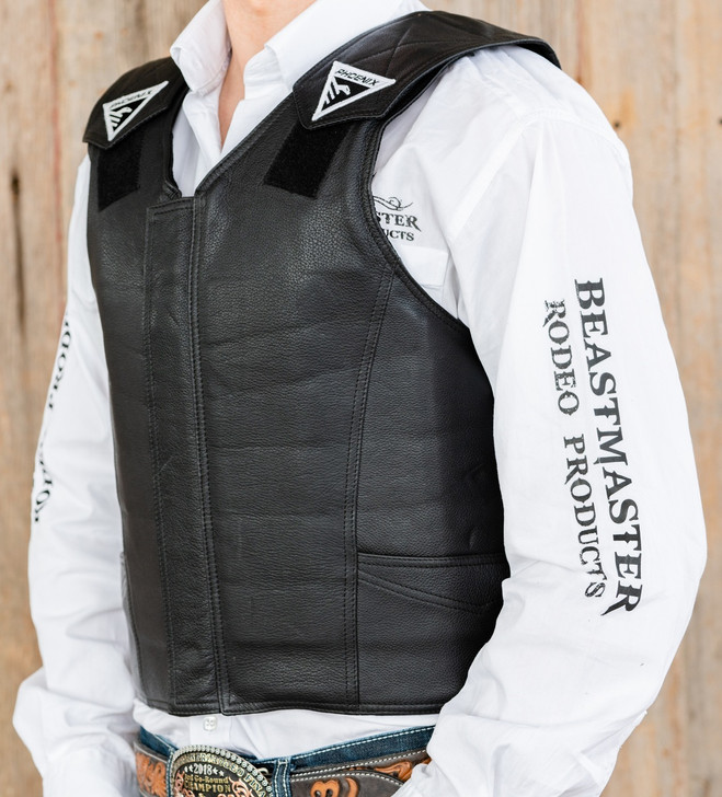 2020 Phoenix Pro Max Adult Rodeo Vest (Black)