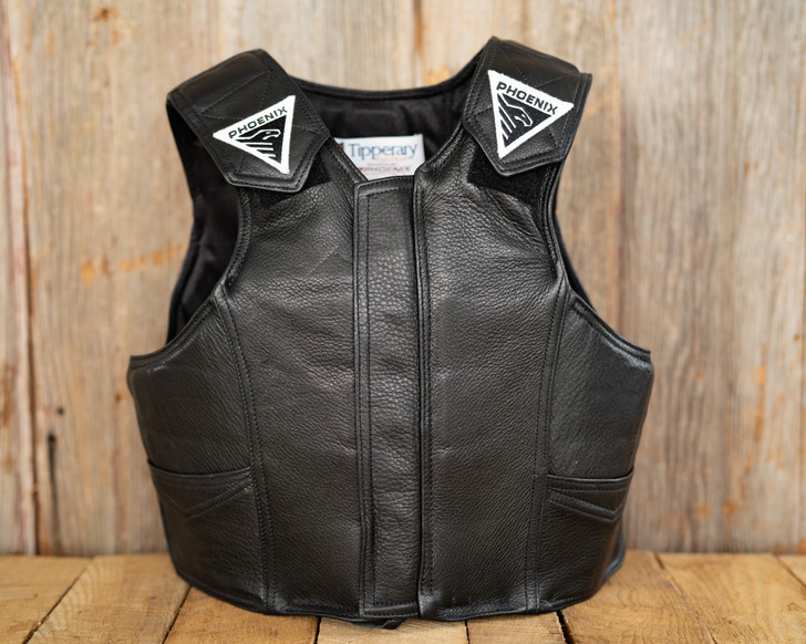 2030 Phoenix Pro Max Youth Rodeo Vest - Leather